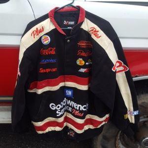 Dale Earnhardt NASCAR Racing Jacket XL